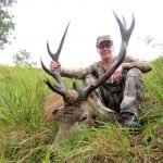 Carol S + red stag