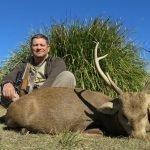 Sergey + hog deer